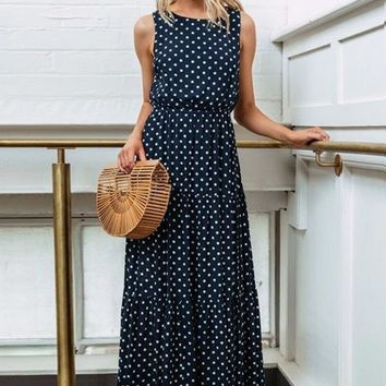 Parker Polka Dot Maxi Dress