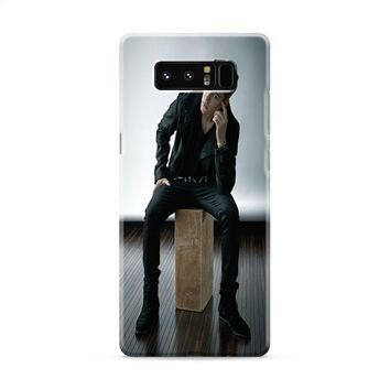 Justin Bieber Calvin Klein Photo Shoot Samsung Galaxy Note 8 Case