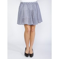 Polka-Dot Skater Skirt