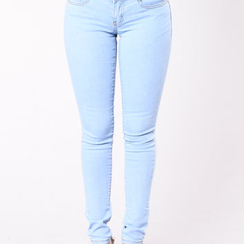 Keep It Real With You Jeans - Light Blue