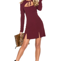 STONE_COLD_FOX SU2C x REVOLVE Derek Dress in Oxblood
