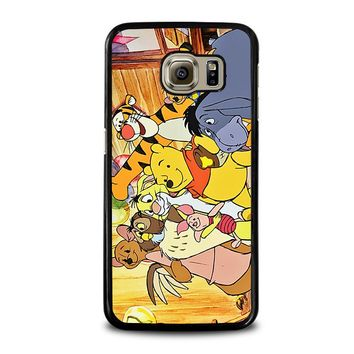 WINNIE THE POOH AND FRIENDS Disney Samsung Galaxy S6 Case Cover