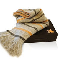 Cologne Striped Wool Throws