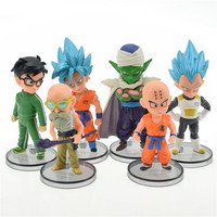 6 pcs mini DBZ figure set