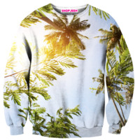 PALM TREES SWEATER