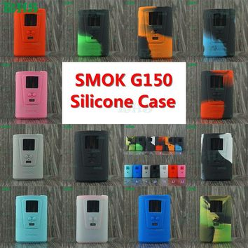 100% Genuine silicone case for 4200mAh 150W SMOK G150 Kit with 5ml TFV8 Big Baby colourful silicone cases protecting your mod