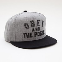 OBEY AND THE POSSE HAT