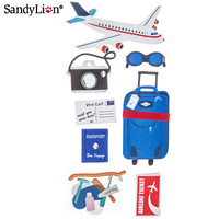 Travel by Plane 3D Stickers   Hobby Lobby   660589