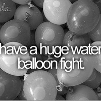 &lt,3, dream, b&amp,w, balloon - image #684057 on Favim.com