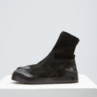 Totokaelo - Marsell Black Cassata Sock Boot - $1,080.00