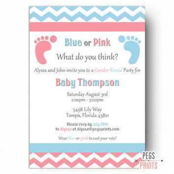 graphic regarding Printable Gender Reveal Invitations identified as Retailer Demonstrate Occasion upon Wanelo