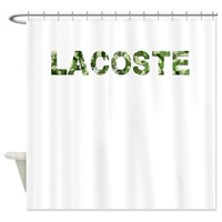 Lacoste, Vintage Camo, Shower Curtain