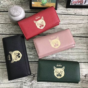 GUCCI 2018 HOT STYLE LEATHER WALLET