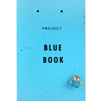 Project Blue Book Sighting Guide + Pin