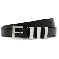 Saint Laurent - Black 2cm Leather Belt | MR PORTER