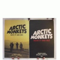 Arctic Monkeys Poster Suck It And See Two Sided The
