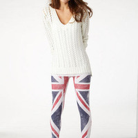 British Flag Legging