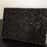 Black and gold MacBook Pro 13in case