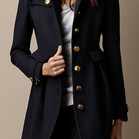 Fitted Military Coat
