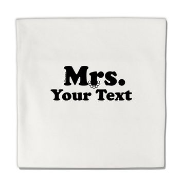 """Personalized Mrs Classy Micro Fleece 14""""x14"""" Pillow Sham by TooLoud"""