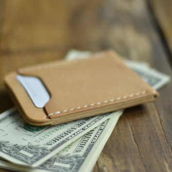 VISA card wallet, Personalized Minimalist Wallets, Custom Wallets, Credit Card holder, Leather Wallet