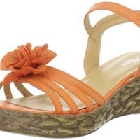 Wanted Shoes Women's Malaga Wedge Sandal