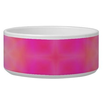 Pink Flare Bowl