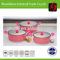 Yongkang Simple Cooking Aluminum Pink Cookware Sets - Buy Pink Cookware Sets,Cookware,Cookware Set Product on Alibaba.com