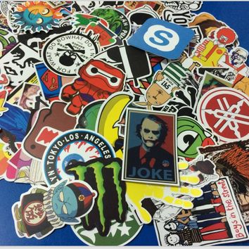50 PCS/set DIY Stickers for Skateboard Laptop Luggage Snowboard Fridge Phone Children toy Styling Stickers 06465