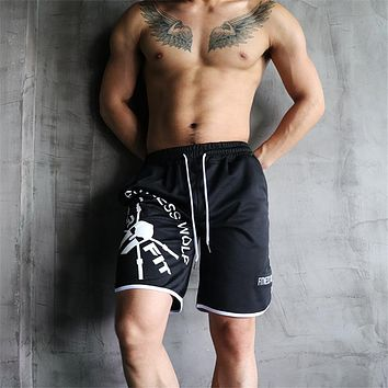 2018 Casual Summer Men's Shorts Sexy Gyms Sweatpants Male Fitness Bodybuilding Workout Man Crossfit Jogger Short Pants M-5XL