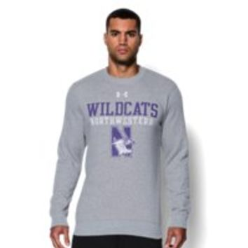 Under Armour Men's Northwestern UA Rival Fleece Crew