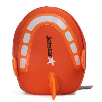 Jetstar Children's Book Bag Airplane Jet Star Napsack