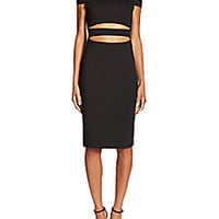 NICHOLAS - N / NICHOLAS Ponte Off-The Shoulder Dress - Saks Fifth Avenue Mobile