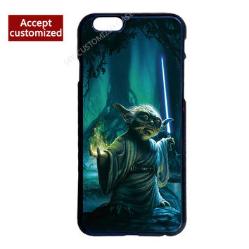 Star Wars Yoda Case for LG G2 G3 G4 G5 G6 Samsung S3 S4 S5 Mini S6 S7 S8 Edge Plus Note 3 4 5 iPhone 4 4S 5 5S SE 5C 6 6S 7 Plus