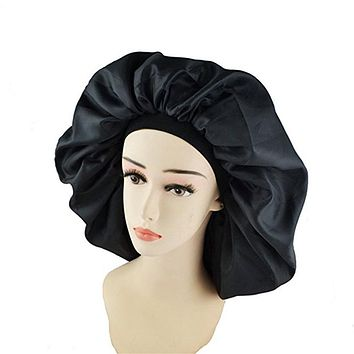 High Quality Super Jumbo Sleep Bonnet Cap to Protect Hair from Damage and Dryness