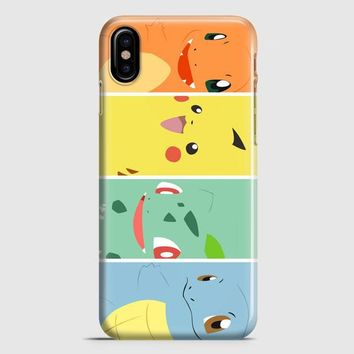 Pokemon Avengers iPhone X Case