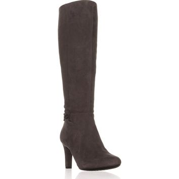 Bandolino Lamari Knee-High Fashion Boots, Dark Grey, 8.5 US