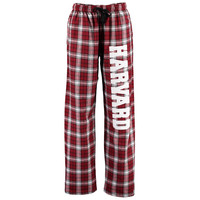 Women's Crimson Harvard Crimson Flannel Pajama Pants