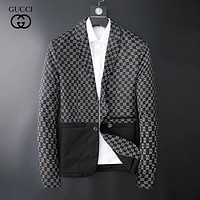 GUCCI Men's Casual Tracksuit Long Sleeve Full-Zip Running Jogging Sports Jacket and Pants Sweater Hoodies T- shirt Jacket Coat