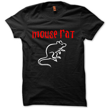 Mouse Rat T-Shirt Black White Gray Unisex T-Shirt Tee S,M,L,XL #1