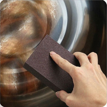 Sponge Carborundum Brush Kitchen Washing Cleaning Kitchen Cleaner Tool [8045600391]