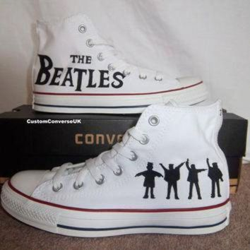 ICIKGQ8 the beatles converse all stars by customconverseuk on etsy