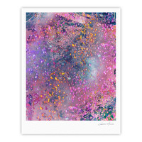 "Marianna Tankelevich ""Pink Universe"" Pink Purple Fine Art Gallery Print"