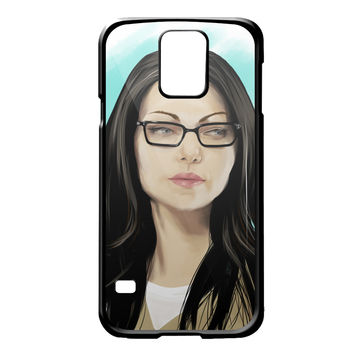Orang Is New Black Art Painting Alex Vause for Samsung Galaxy S5 Case