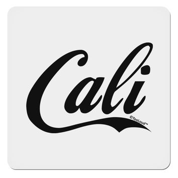 "California Republic Design - Cali 4x4"" Square Sticker by TooLoud"