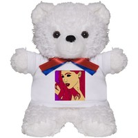 Ariana Grande Demon Eyes Teddy Bear