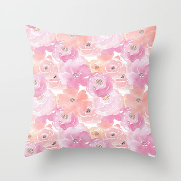 Isla Throw Pillow by sylviacookphotography