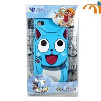 Anime Fairy Tail Happy Phone Case for Iphone 4 / 4s