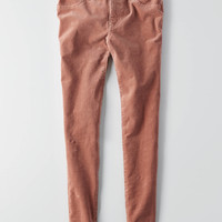 AEO Cord X4 Jegging , Rose