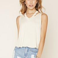 Cutout V-Neck Top